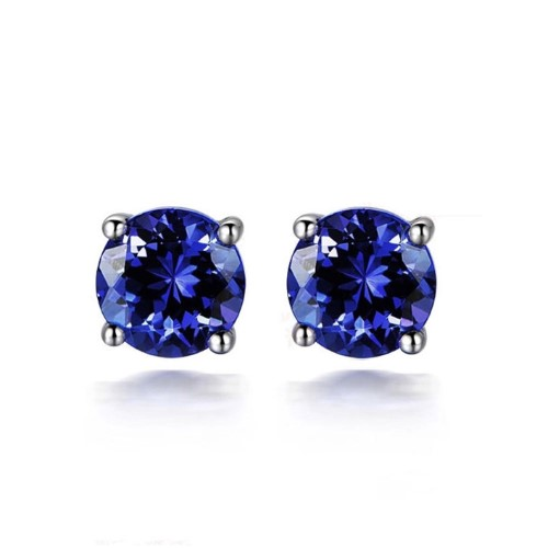 Natural Tanzanite Earrings